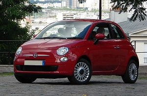 Fiat 500 for lease