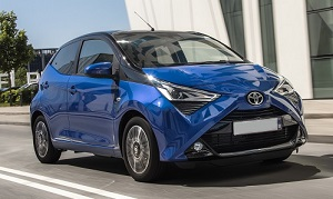 Toyota Aygo for lease